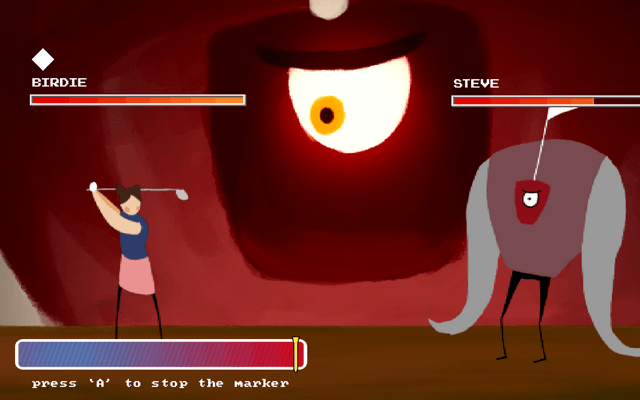 "Screenshot of ""Golf Slayer"""