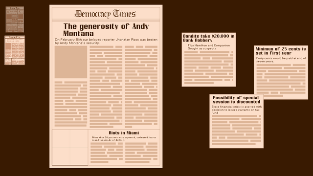 "Screenshot of ""The Democracy Times"""
