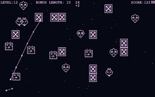 "Screenshot of ""Alien Arrow Attack"""