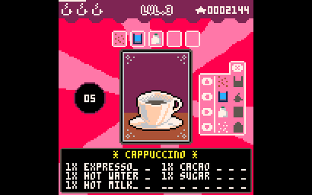 "Screenshot of ""Coffee maker"""