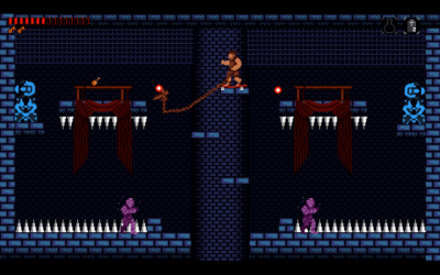 "Screenshot of ""Arseholevania"""