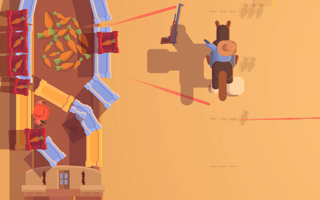 "Screenshot of ""Guns'n'Carrots"""
