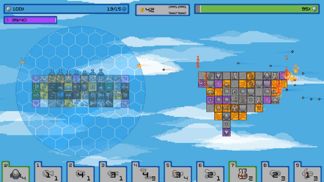 "Screenshot of ""IIslands of War"""
