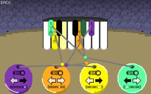 "Screenshot of ""Pianobots"""