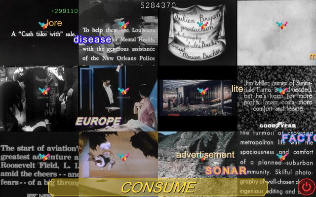 """Screenshot of """"The Consumer"""""""