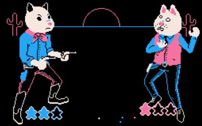 "Screenshot of ""Pistol Packin' Possum"""