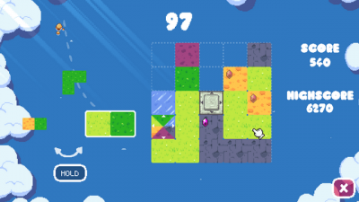 """Screenshot of """"Tiny Kingdom Builder"""""""
