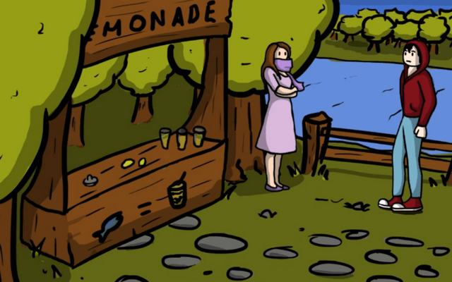 """Screenshot of """"Garden of Ouroboros"""""""