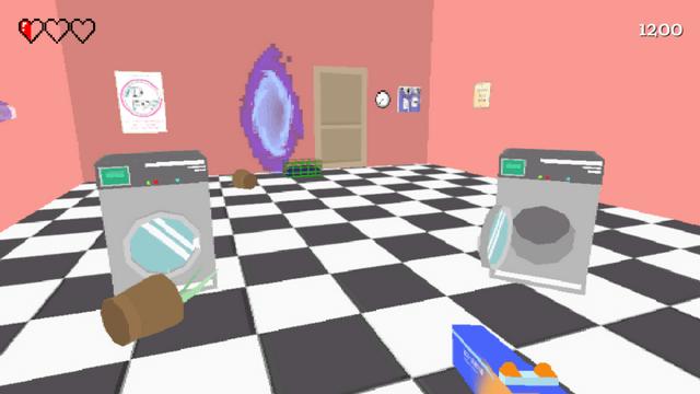 "Screenshot of ""Laundro-Mess"""