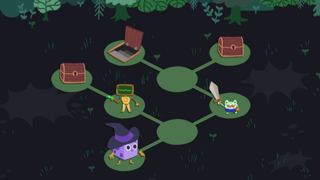 "Screenshot of ""Dicey Dungeons"""