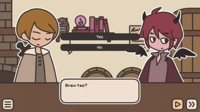 "Screenshot of ""A TAVERN FOR TEA"""