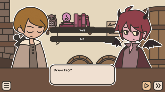 "Screenshot of ""A TAVERN FOR TEA"""