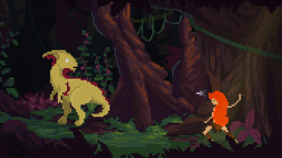 "Screenshot of ""Theropods"""