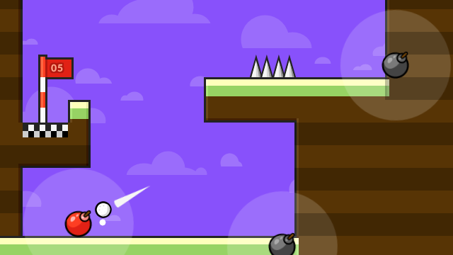 "Screenshot of ""Golf is a blast"""