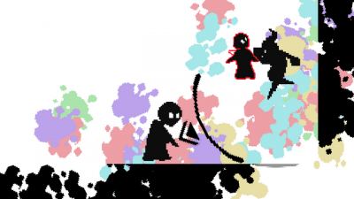 "Screenshot of ""Paint Rush"""