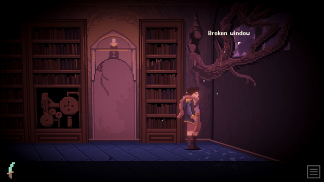 "Screenshot of ""The Librarian"""