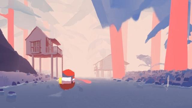 """Screenshot of """"Au fil de l'eau"""""""