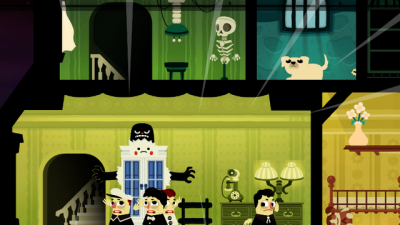 "Screenshot of ""Haunt the House: Terrortown"""