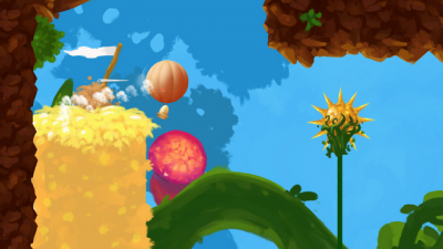 "Screenshot of ""Fluffy Flight"""