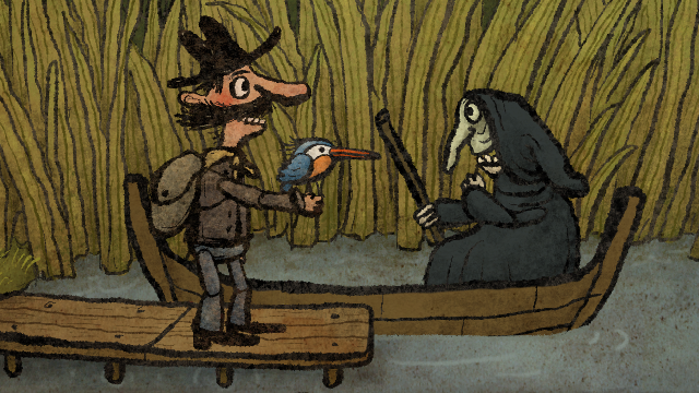 """Screenshot of """"Pilgrims"""""""