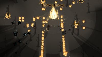 """Screenshot of """"Firekeeper"""""""