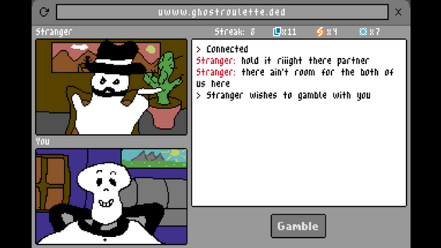 "Screenshot of ""Ghost Roulette"""