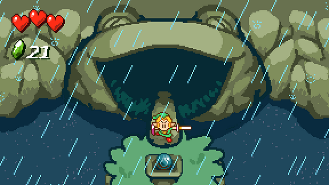 "Screenshot of ""The Legend of Zelda: Eternal Rain"""