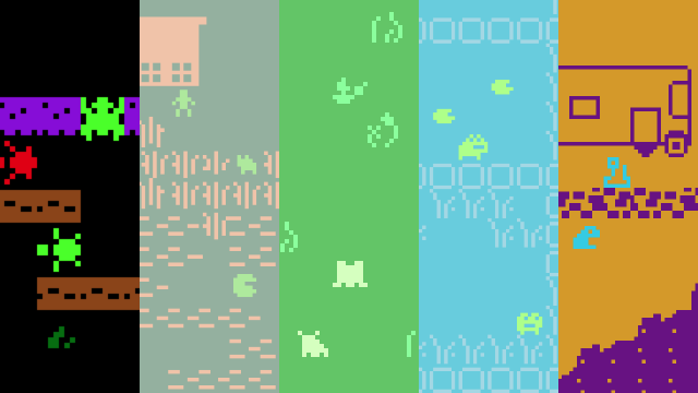 Bitsy Jam (Frog), Part Three