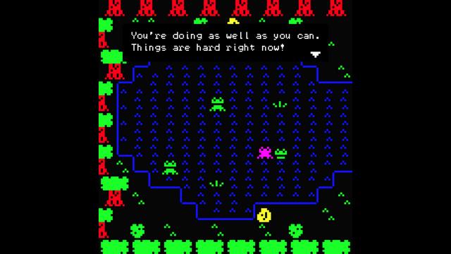 "Screenshot of ""Frog Affirmations"""