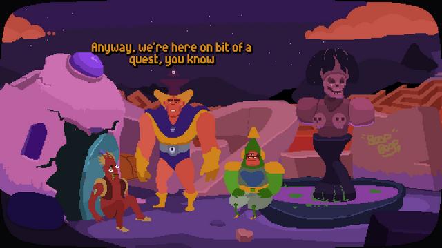 "Screenshot of ""Intergalactic Wizard Force"""