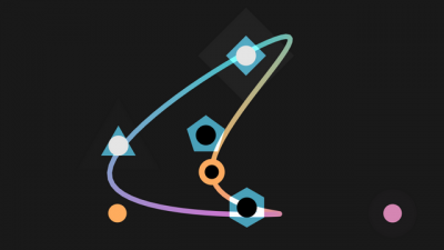 """Screenshot of """"Splines 'n Shapes"""""""