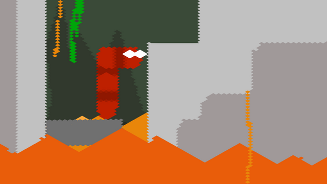 "Screenshot of ""Volcano Snek"""