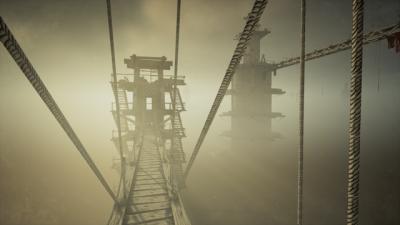 "Screenshot of ""Cloud Climber"""