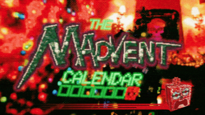 "Screenshot of ""Haunted PS1 Madvent Calendar"""