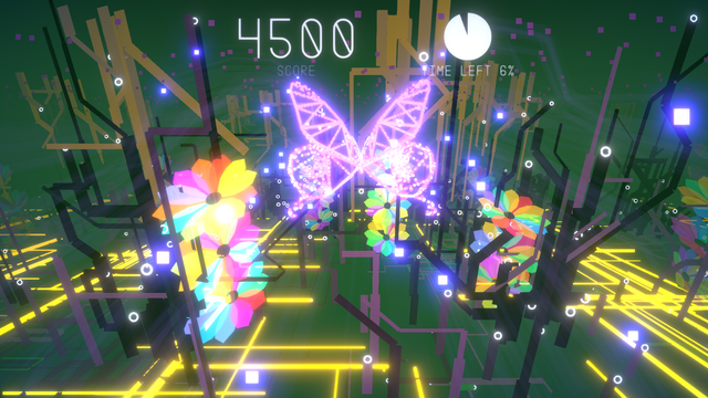 "Screenshot of ""A Flutter of Silicon Wings"""