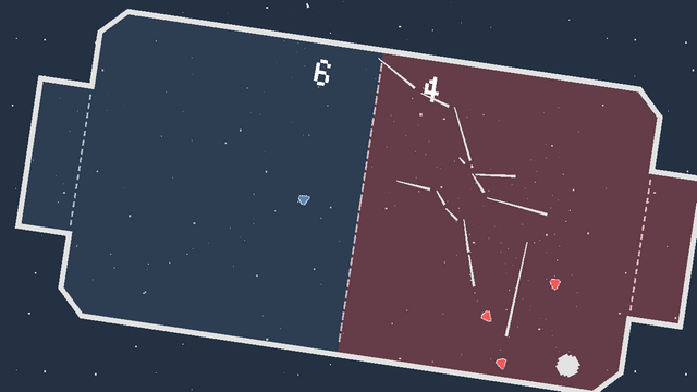 "Screenshot of ""Space Pong!"""