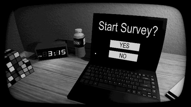 "Screenshot of ""Start Survey?"""