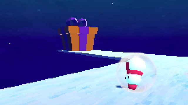 "Screenshot of ""Blizzard Blowout 64"""