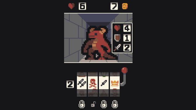"""Screenshot of """"Casino Crypt"""""""