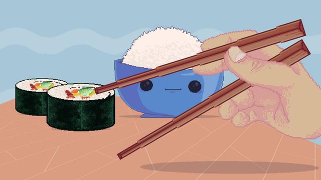 "Screenshot of ""Chopsticks Simulator"""