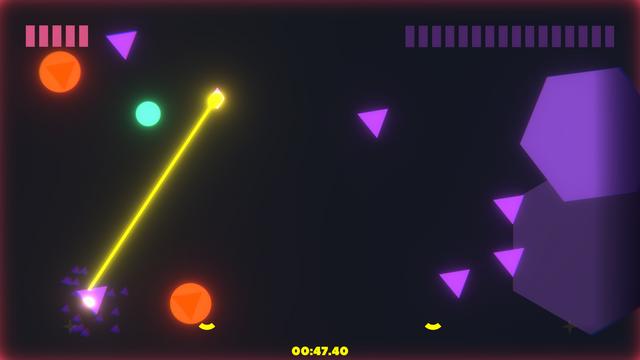 "Screenshot of ""Laserwave"""