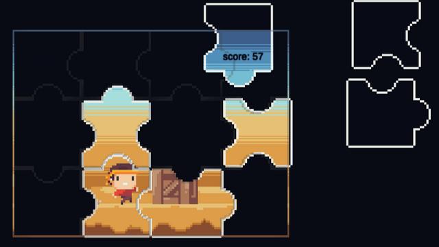 "Screenshot of ""PuzzleRun"""