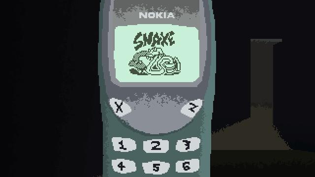 """Screenshot of """"SNAKE 3310"""""""