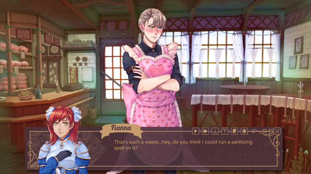 "Screenshot of ""Appetité Amor"""
