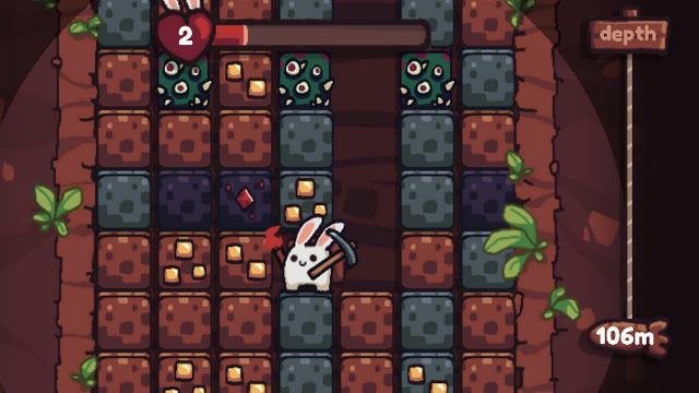 "Screenshot of ""Bunny Bunny Dig Dig"""