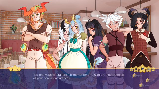 "Screenshot of ""Dimlight Cafe"""