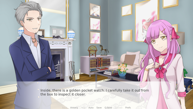 """Screenshot of """"Eternal Flower:Prologue"""""""