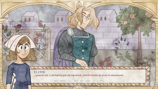 "Screenshot of ""Maid of Chapelle Bleue"""