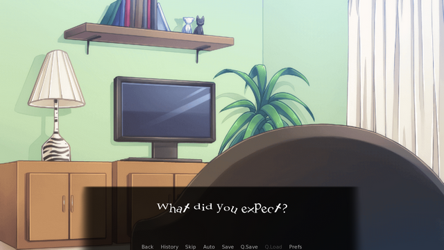 "Screenshot of ""The Dark Place"""
