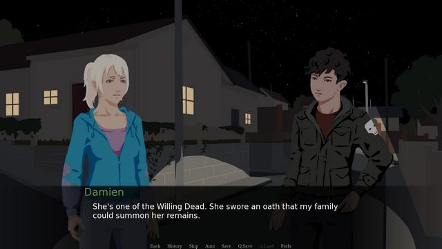 "Screenshot of ""The Wandering Labyrinth"""
